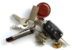 clés voiture